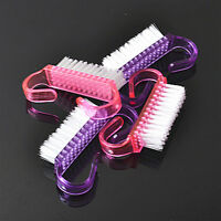 2PCS Nail Brush Nail Art Care Manicure Pedicure Small Clean brushes Nail Beauty