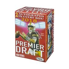 2018 Sage Hit Premier Draft High Series Football Blaster Box