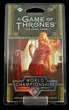 A Game of Thrones 2.0: World Championship 2016 Deck