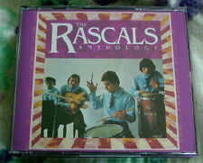 "R&B/Soul-Rock THE RASCALS ""Anthology"" 2xCD 1992 RHINO CRC Dbl. Jewelbox/Book EX"