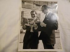 BBC Television Service Official Photo: Perry Como & Duke of Bedford, Woburn 1960