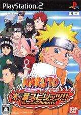 Used PS2 Naruto Konoha Spirits   Japan Import (Free Shipping)