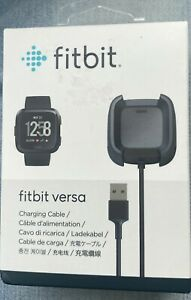 Fitbit Versa 1 & Versa Lite USB Charging Dock Station Cable Charger OEM Genuine