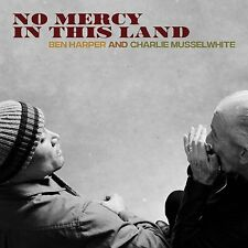 BEN HARPER AND CHARLIE MUSSELWHITE - NO MERCY IN THIS LAND - NEW BLUE VINYL LP (