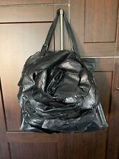 Valentino Garavani Black Leather Petale Frame  Bag