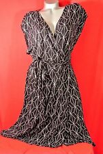 2X✿Party~Geo✿Faux~Wrap✿Work✿Cruise✿DRESS✿Plus~Size✿Pinup✿Rockabilly+Torrid~Bow