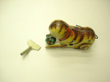 Antique Old Vintage In Box Cat Wind Up Toy And The square Key Winds up nicely