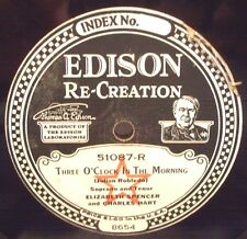 Edison - 51087 - Three O'Clock In The Morning - When Knighthood Was In Flower