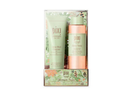 PIXI Glow Skintreats Besties Holiday Kit -Toner 250ml & Glow mud Cleanser 135ml
