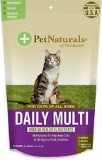 Pet Naturals of Vermont Daily Multi Cat Chews, 30 count (Free Shipping in USA)