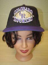 Colorado Rockies MLB Baseball Trucker Cap Hat Adjustable Snapback Starter