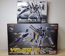 BANDAI DX Chogokin Macross YF-29 Durandal Valkyrie 30th Mem Figure + Super Parts