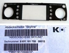 Original Blaupunkt Car Radio Abdeckscheibe SKYLINE 8631161755 - NEU