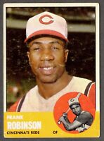 1963 Topps Baseball #400 Frank Robinson Cincinnati Reds - 5th Series