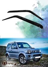 For Suzuki Jimny 98-18 Deflector Window Visors Guard Vent Weather Shield