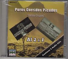 Luis Y Julian El Barzon La Tropa Chicana Puros Corridos Picudos 2CD New Sealed