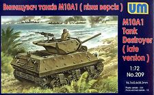UM 1/72 209 WWII US M10A1 Tank Destroyer (Late Version)