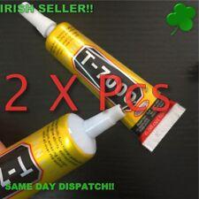 T-7000 Glue 15ml Black Super Adhesive Good Screen Frame Sealant ''2 x tubes!!!''