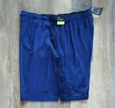 NWT Men's NIKE Big Tall Dri-Fit HYBRID Basketbal Shorts Bright Blue