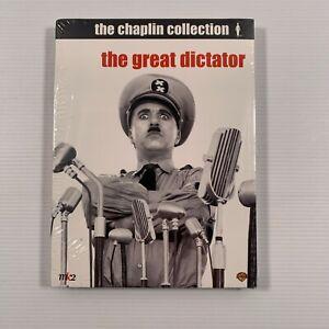 The Great Dictator SEALED(DVD 2003 2-Disc Set) 1940 Charlie Chaplin Film Reg 1