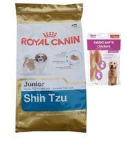 1,5kg Royal Canin Shih-Tzu Junior + 80g Fleischsnacks