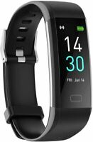Fitness Tracker Watch with Heart Rate Blood Pressure Oxygen Monitor