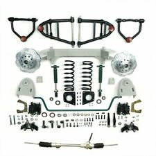 1949 50 51 52 53 54 Chevy car mustang II IFS front end kit suspension manual ++