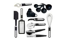New KitchenAid Black 16-Piece Cooking Utensil Gadget Set Tools