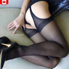 Sexy Women's Black Open Crotch* Very Hot Style Lace Panty hose