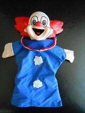 Rare marionnette  Pizza Pai  Bozo le clown   / handpuppet Bozo the clown