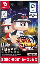 Nintendo Switch KONAMI eBASEBALL Jikkyou Powerful Pro Baseball 2020 w/tracking