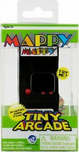 Tiny Arcade Mappy Brand New Sealed In Pack Smallest Coolest Keychain