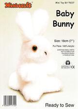 Rosa Baby Bunny Mini Juguete kit de elaboración de Minicraft-Listo Para Coser Rosa Bebé Conejo