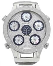 US$1750 TECHNO COM KC 0.25ct Diamond Watch Paris LA New York HK Tokyo Stingray