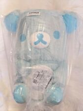 UK SELLER San-X Blue Mint Rilakkuma BIG plush 42cm Toreba Japan NEW