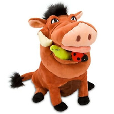 "Disney The Lion King pumbaa Pumba plush Soft Stuffed Toy 12 1/2"" 31cm"