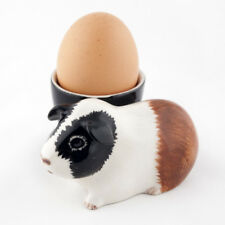 New Quail Ceramics - Tri  Guinea Pig Egg Cup - Hand painted - Boxed