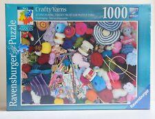 Ravensburger 1000 piece jigsaw - 'Crafty Yarns'