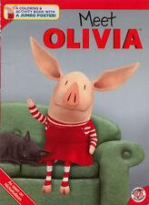 Olivia coloring book RARE UNUSED