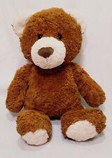 """Teddy Bear Brown Plush Stuffed Animal 16"""" Toy Gund"""