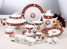Oferta de café + pizarra combi-Service Set 57 piezas 6 personas da vinci Medusa Maeander