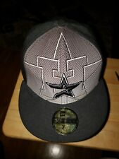 Houston Astros 59fifty Fitted Cap Size 7 & 1/4 NWT