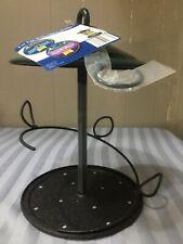 New listing Home Base Snack Stack Bird Feeder Green Metal