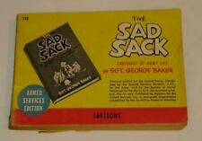The Sad Sack by Sgt George Baker - Armed Services Edition #719