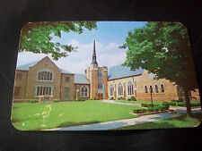 Vintage Postcard- Central Christian Church, Fifth at Franklin, Elkhart, Indiana