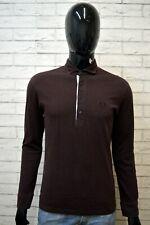 Polo Maglia Uomo FRED PERRY Taglia S Maglietta Manica Lunga Shirt Man Casual