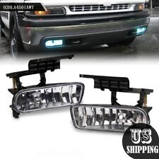 For Chevy Silverado Tahoe Suburban Escalade Front Fog Lights - Crystal Clear