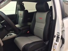 CUSTOM LEATHER UPHOLSTERY FOR 2007-18 TOYOTA TUNDRA DOUBLECAB OR CREWMAX
