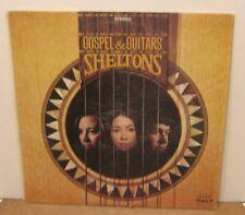 Gospel & Guitars SHELTONS Phonograph Record Album LP
