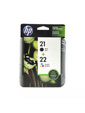 HP 21 Black & HP 22 Tri-Color Ink Cartridges C9509FN -C9351AN & C9352AN Exp 9/22